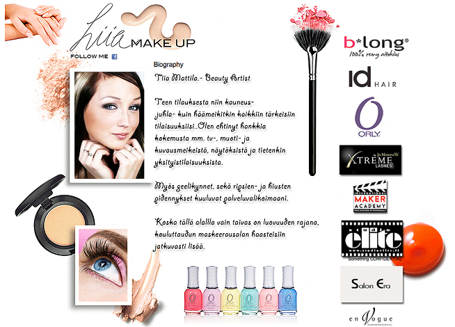 Tiia Mattila Makeup Artist